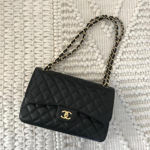 0ac84675af69 CHANEL Handbags - CHANEL LARGE CLASSIC HANDBAG